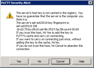 Putty ssh host key prompt.png
