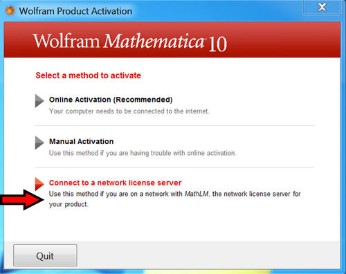 Mathematica 10 Activation Screen 2