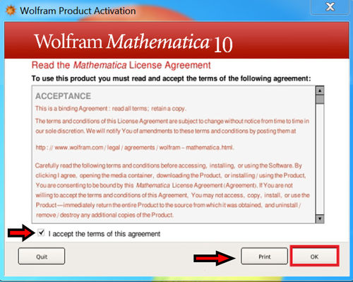 Mathematica 10 Activation Screen 4